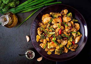 Opskrift på wok med kylling