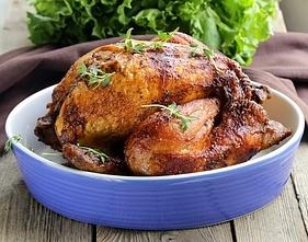 Hel kylling i ovn eller grill - Opskrifteriet- gode opskrifter helt enkelt