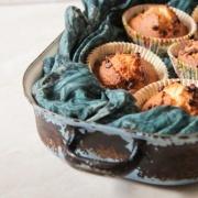 Vaniljemuffins med chokoladestykker