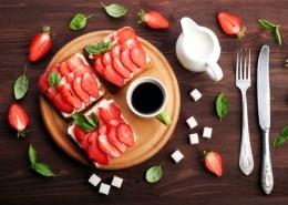 Jordbær madder