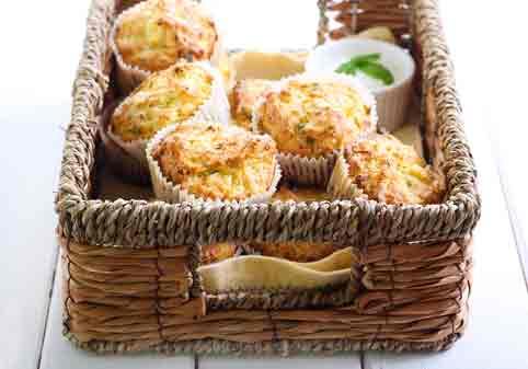 sunde muffins til madpakken