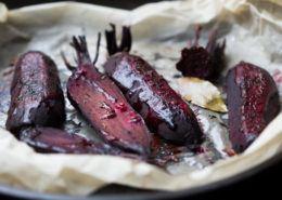 Bagte rødbeder med balsamico og muskatnød