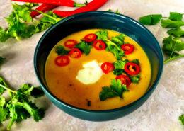 Opskrift bagt butternut squash suppe