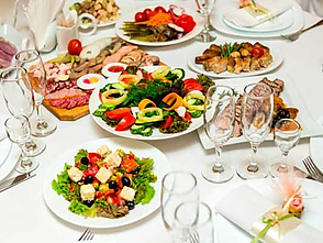gæster til middag