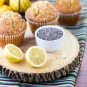 Muffins med citron og birkes