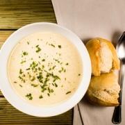 Hvidløgssuppe