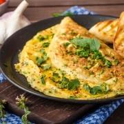 Klassisk omelet