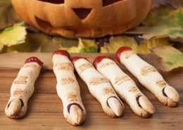 Knasende halloween fingre