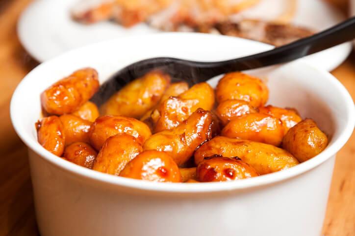 Perfekte brunede kartofler