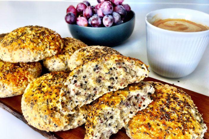 Opskrift på proteinboller med quinoa
