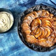 Opskrift nem æblekage