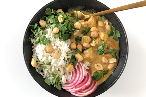 Opskrift peanut butter chicken