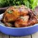 Hel kylling i ovn eller grill