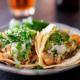Hurtig tortillas med sprød fisk