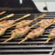 Grillet torpedo okse- og svinekødsspyd
