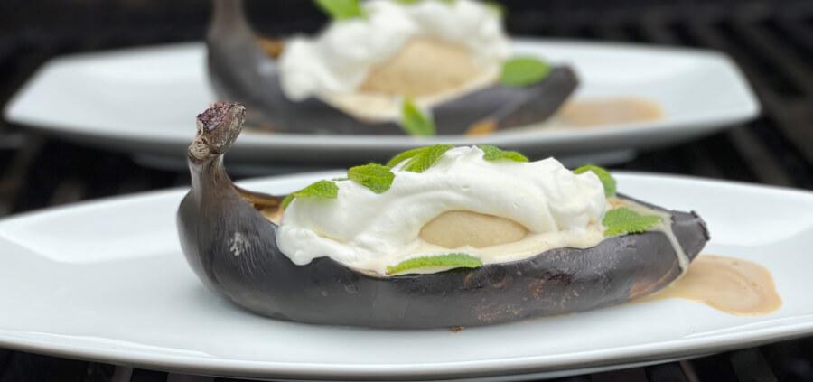 Grillet Irish coffee banan
