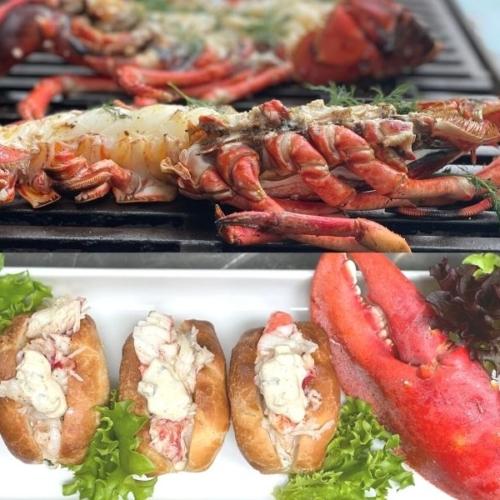Lobsterroll - grillet luksus hummer hotdog